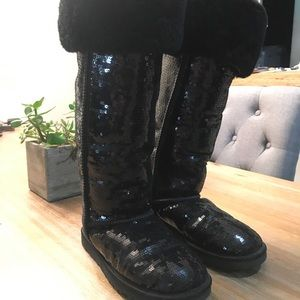 Ugg Tall Sequin Boots